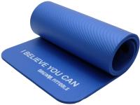 Коврик для йоги и фитнеса Original FitTools FT-YGR-100NBR-BWV (синий) -