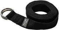 Ремень для йоги Original FitTools FT-YSTP-BLACK (304см, черный) -