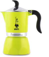 Гейзерная кофеварка Bialetti Fiametta Lime 21010/4 (7113) -