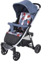 Детская прогулочная коляска Tomix Bliss HP-706 / 928442 (синий) -
