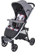 Детская прогулочная коляска Tomix Bliss HP-706 / 928443 (серый) -