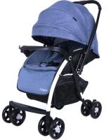 Детская прогулочная коляска Tomix Carri HP-712ZG / 928445 (синий) -