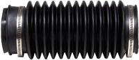 Труба соединительная для вентиляционного выхода Vilpe 110 / 74204 (черный) -