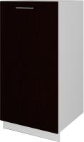 Шкаф под мойку Артём-Мебель СН-114.20 (500) (венге/серый) -
