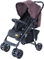 Детская прогулочная коляска Tomix City One HP-716 / 928450 (кофейный/черный) -
