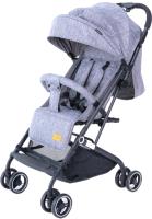 Детская прогулочная коляска Tomix Easy Go HP-709PX / 928453 (серый) -