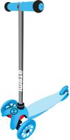 Самокат Atemi Baby Road AKC01B (синий, светящиеся колеса) -