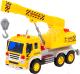 Кран игрушечный Полесье Сити / 86532 (инерционный, желтый) -