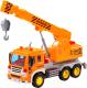 Кран игрушечный Полесье Сити / 86556 (инерционный, оранжевый) -