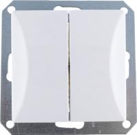 Выключатель TIMEX Opal OPBL-WP2-S (белый) -