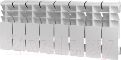 Радиатор алюминиевый Rommer Plus 200 (14 секций)