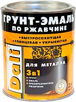 Эмаль DALI По ржавчине 3 в 1 (2л, ультрамарин) -