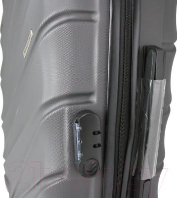 Чемодан на колесах Bellugio WA-6034L (серый)