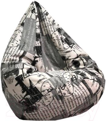 Бескаркасное кресло BomBom Париж Грета XL