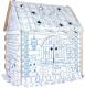 Детский игровой домик Dream Makers Домик для раскрашивания / DOM1C -