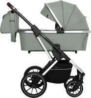 Детская универсальная коляска Carrello Aurora 2 в 1 / CRL-6505 (Tea Green) -
