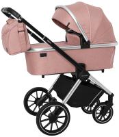 Детская универсальная коляска Carrello Optima 2 в 1 / CRL-6503 (Hot Pink) -