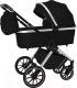 Детская универсальная коляска Carrello Optima 2 в 1 / CRL-6503 (Leather Black) -