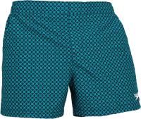 Шорты для плавания Speedo Vintage Leisure 14 Watershort / 8-12435 F405 (S, синий/зеленый) -