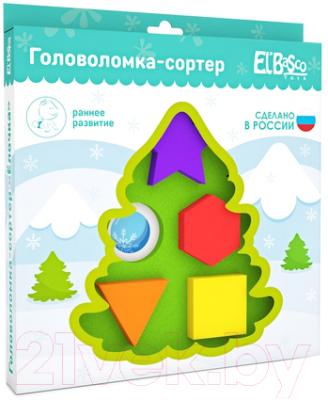 Развивающая игрушка El'Basco Toys Сортер. Елочка / 04-006