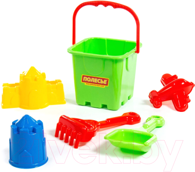Набор игрушек для песочницы Полесье №300 / 35547