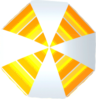 Зонт пляжный Zagorod Z 140 (orange 614) -
