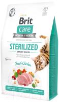 Корм для кошек Brit Care Cat Grain-Free Sterilized Urinary Health / 540747 (400г) -