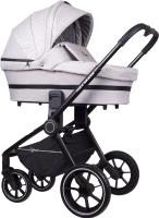 Детская универсальная коляска Rant Flex Grand 2 в 1 / RA065 (Mineral Silver) -