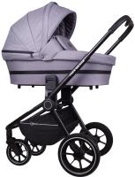 Детская универсальная коляска Rant Flex Grand 3 в 1 / RA066 (Mercury Grey) -