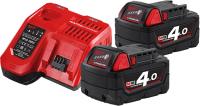 Набор аккумуляторов для электроинструмента Milwaukee M18 NRG-402 / 4933459215 -