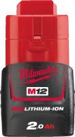 Аккумулятор для электроинструмента Milwaukee M12 B2 / 4932430064 -