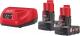 Набор аккумуляторов для электроинструмента Milwaukee M12 NRG-602 / 4933451903 -