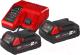 Набор аккумуляторов для электроинструмента Milwaukee M18 NRG-202 / 4933459213 -