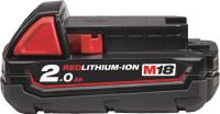 Аккумулятор для электроинструмента Milwaukee M18 B2 / 4932430062 -