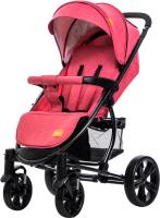 Детская прогулочная коляска Xo-kid LanD (Crimson) -