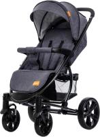 Детская прогулочная коляска Xo-kid LanD (Dark Blue) -