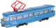 Трамвай игрушечный Технопарк Трамвай / CT12-463-2-BL-WB -