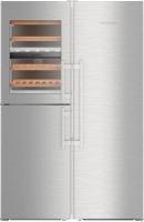 Холодильник с винным шкафом Liebherr SBSes 8496 -