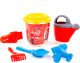 Набор игрушек для песочницы Полесье Disney Тачки №20 / 65490 -