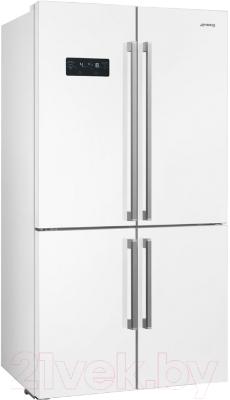 Холодильник с морозильником Smeg FQ60BDF