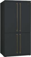 Холодильник с морозильником Smeg FQ60CAO5 -