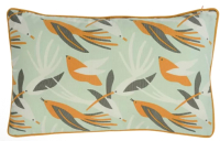 Наволочка декоративная Tkano Wild Birds of Nilei / TK19-CC0004 (мятный) -