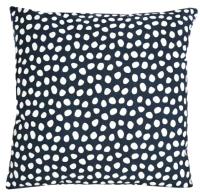 Наволочка декоративная Tkano Funky Dots / TK18-CC0012 (темно-серый) -