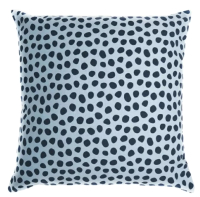 Наволочка декоративная Tkano Funky Dots / TK18-CC0013 (серый/голубой) -