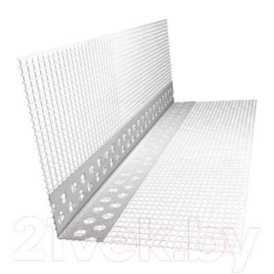 Уголок штукатурный Эверестстрой 2.5м x 10x15см с сеткой