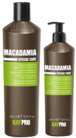 Набор косметики для волос Kaypro Cpecial Care Macadamia Восстанавливающий кондиционер+Шампунь (100мл+100мл) -