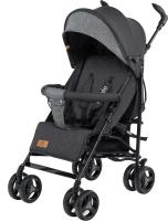 Детская прогулочная коляска Lionelo Irma (черный/темно-серый) -