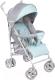 Детская прогулочная коляска Lionelo Irma (серый/мятный) -