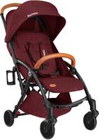 Детская прогулочная коляска Lionelo Julie (черный/бордовый) -