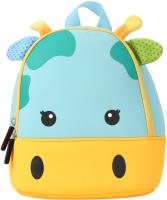 Детский рюкзак Sun Eight Жираф / SE-sp035-02 (голубой/желтый) -